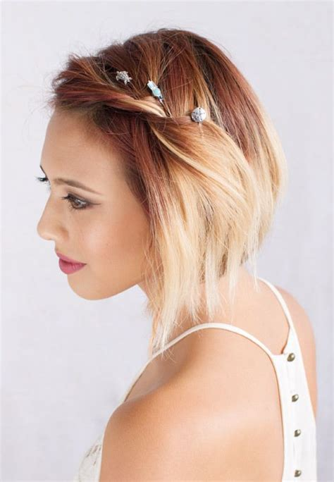 Use Lilla Rose Bobby Pins to pull back and secure side