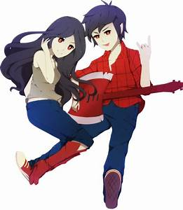Marceline X Marshall Lee By ERDJIE On DeviantArt