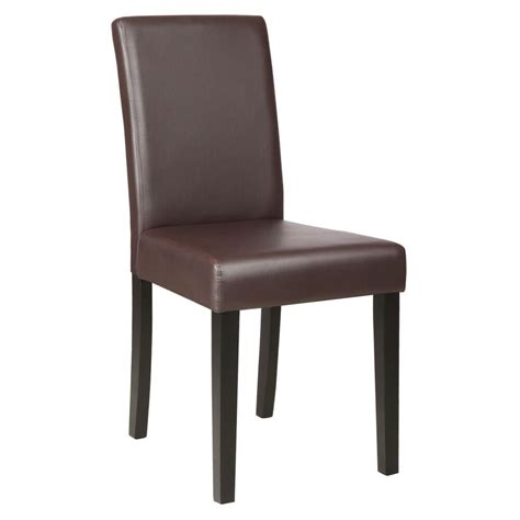 leather dining room chair set of 2 kitchen dinette dining room chair design