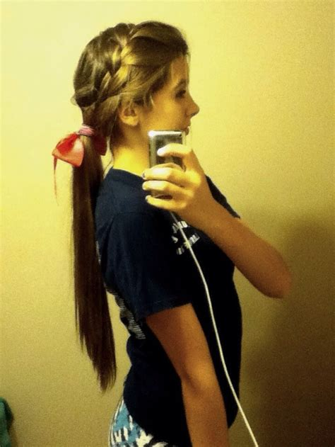 super cute ponytail like share follow me trusper