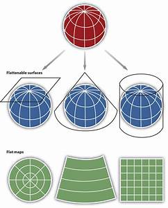 Map Scale  Coordinate Systems  And Map Projections