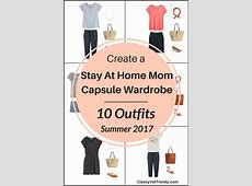 Create a Stay At Home Mom Capsule Wardrobe 10 Summer