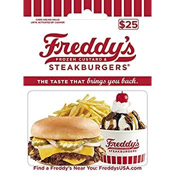 Five nights at freddy's 2. Amazon.com: Freddy's Frozen Custard Gift Card $25: Gift Cards