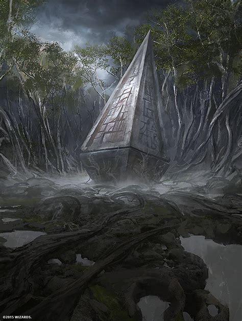 mtg art overgrown tomb expeditions  battle