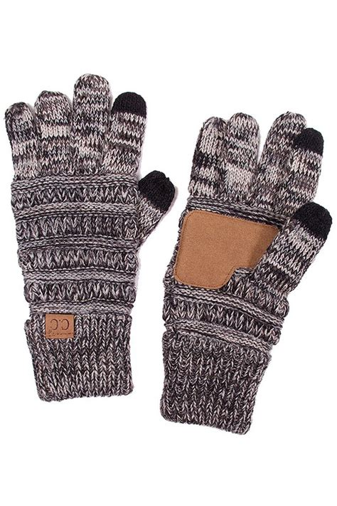 tone knit gloves  cc brand