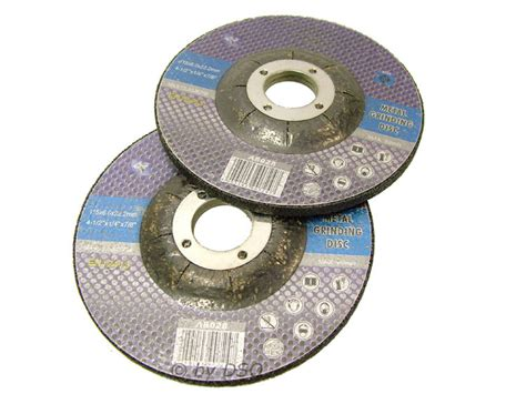 412 Inch Metal Grinding Angle Grinder Discs X 10 Pack