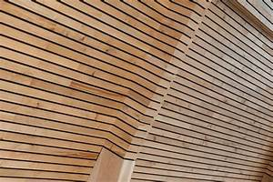 Bardage Claire Voie Horizontal : bois red cedar pour bardage bois claire voie nature bois concept ~ Carolinahurricanesstore.com Idées de Décoration