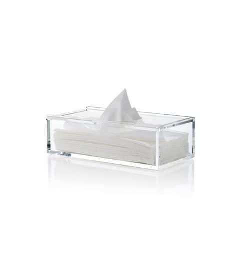 poubelles de bureau boîte à mouchoir design transparente nomess copenhagen