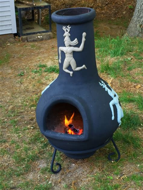 what is a chiminea used for my weekend project took an clay chiminea that was