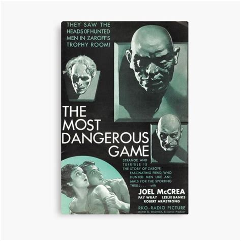 Most Dangerous Game Gifts & Merchandise | Redbubble