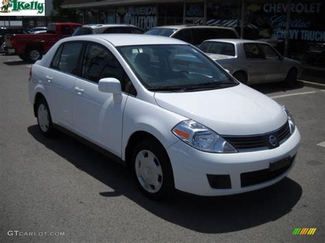nissan 2008 white 2008 fresh powder white nissan versa 1 8 s sedan 31743270
