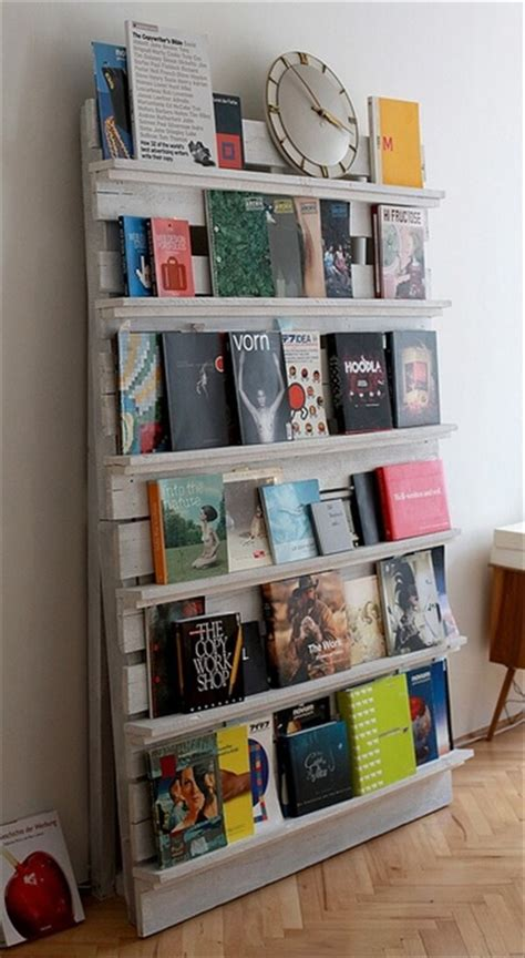 diy pallet bookshelf recycle used pallets into unique pieces of furniture
