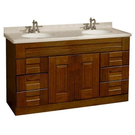bathroom vanity mirrors at menards statesman series 60 quot w x 18 quot d vanity at menards