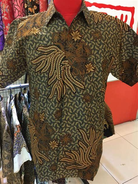 kemeja batik cotton fesyen lelaki pakaian di carousell