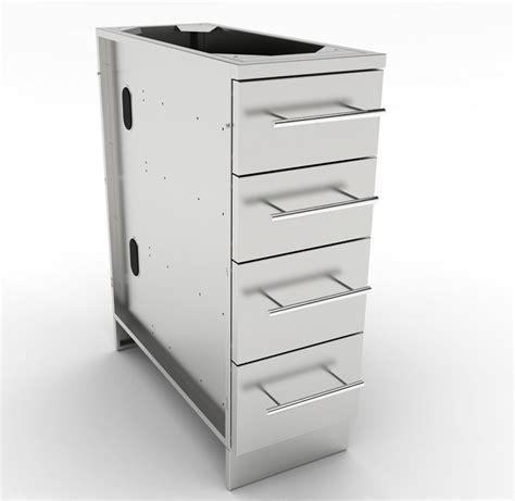 12 inch storage cabinet sunstone 12 inch 4 multi drawer base cabinet