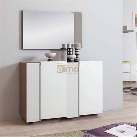 meuble entr 233 e design contemporain miroir mix
