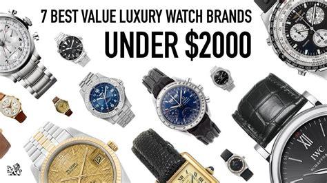 Top 7 Swiss Luxury Watch Brands Under $2000  The Best