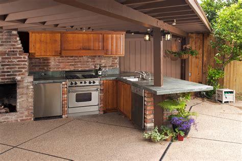 amenagement cuisine exterieure cuisine extérieure l 39 aménager dans jardin ooreka