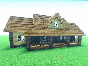 Minecraft Lowcountry Ranch/Farm House Tutorial - YouTube ...