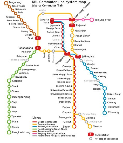 kereta commuter indonesia wikipedia