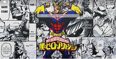 Academia Might Hero Manga 4k Anime Boku
