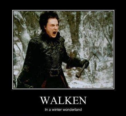 Christopher Walken Cowbell Meme - walken in a winter wonderland movies in a dish