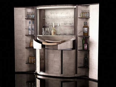 bar cabinet modern style elegant home bar furniture design idea adds striking