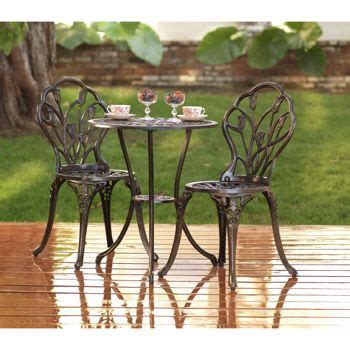 bistro set bistros and costco on