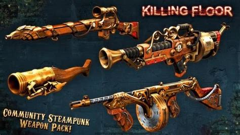 killing floor 2 all weapons killing floor community weapon pack 2 2013 linux box cover art mobygames