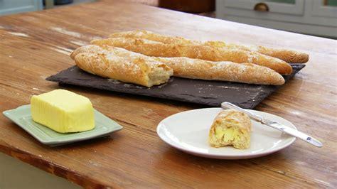 baguette cuisine paul 39 s baguettes recipe recipes pbs food