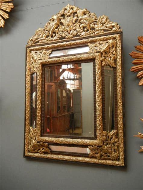 miroir ancien 224 parcloses de style louis xiv
