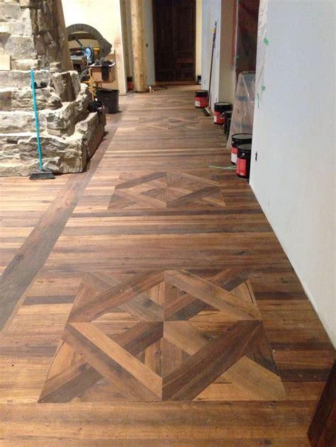 parquet flooring custom square parquet painted floor