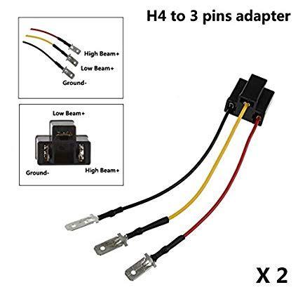 H4666 Wiring Diagram by 3 Prong Headlight Diagram Wiring Diagram
