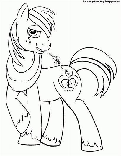 Pony Colorear Kolorowanki Macintosh Coloring Dibujos Dla