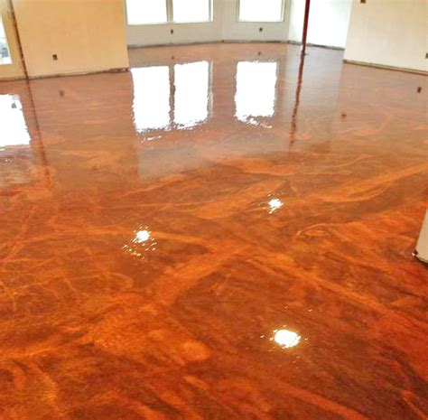 garage floor paint metallic understanding metallic epoxy floor pigments garage coatings of boston