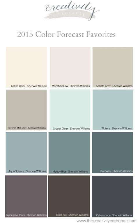 favorites    paint color forecasts