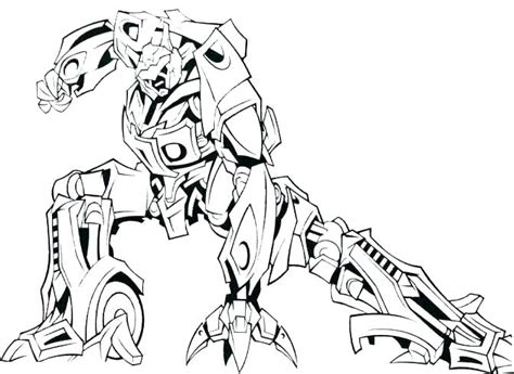 Cool Robot Coloring Pages At Getcolorings.com