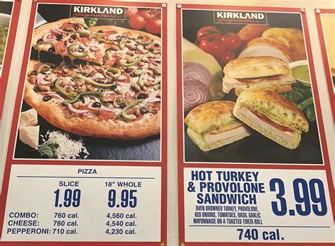 costco food court menu  prices slc menu