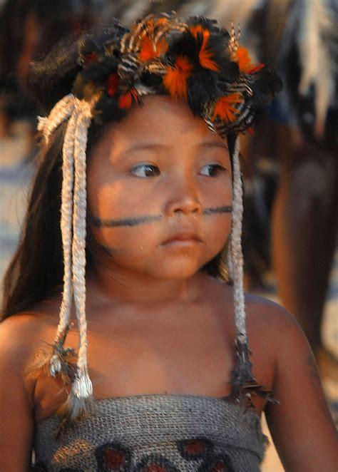 Girl Tribe Indigenous Peoples In Brazil Wikipedia