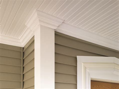 Beadboard Vinyl Ceilings : Professional Deck Builder