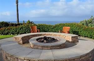 feuerstelle im garten planen und anlegen With feuerstelle garten mit wintergarten mit balkon darüber