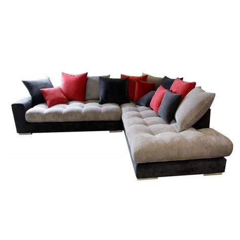 canapé d angle gris tissu canapé d angle canapé angle design gris et
