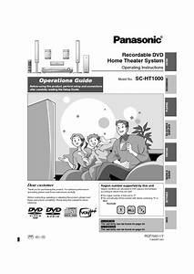 Sc-ht1000 Manuals