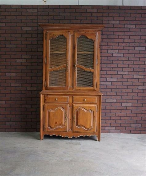 China Cabinet And Hutch by Hutch China Cabinet Linen Cabinet Country