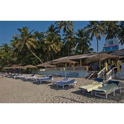 Palolem Beach Resort at beach a hut resort