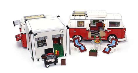 vw bulli lego custom bricks neues zubeh 246 r f 252 r den vw t1 bulli promobricks