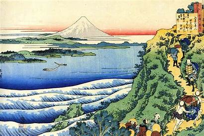 Mount Fuji Hokusai Japanese Katsushika Artwork Views