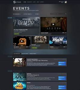 Valve Redesigns Steam Game Library  Adding Steam Events