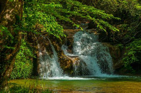 waterfalls, Spain, Garrotxa, Volcanic, Zone, Nature ...