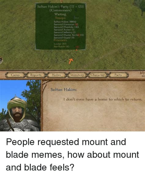 Mount And Blade Memes - 25 best memes about mount and blade mount and blade memes